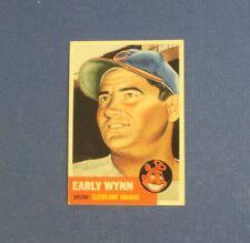 1953 Topps #61 Early Wynn Indians SP  NRMINT  * SHARP *  FLASH SALE