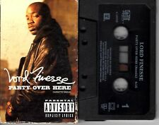 Lord Finesse Party Over Here 1991 Cassette Tape Single Rap Hiphop DITC