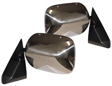 NEW Black & Chrome ADR Side View Mirror PAIR / FOR LISTED 88-99 GM TRUCKS & SUVS