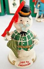 RUDOLPH & Island of Misfit Toys Ornament from Midwest of Canon Falls - SNOWMAN