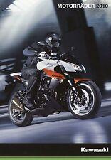Kawasaki Prospekt 2010 Motorradprospekt ER-6f Ninja 250R VN2000 Z1000 VN1700