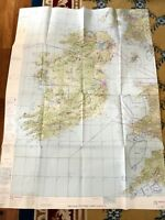 1976 Vintage Military Map RAF Chart Republic of Ireland UK Europe Cold War