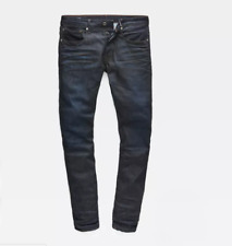 G-star Raw 3301 tapered jeans mens w 33 l 36 dark aged color