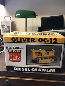 Oliver OC-12 Diesel Crawler 1:16 Scale By Spec-Cast