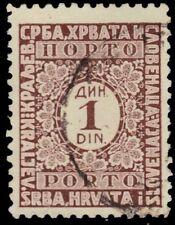 "YUGOSLAVIA J15 (Mi P56C) - Numeral of Value ""Postage Due"" (pf44405)"