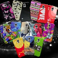 For Samsung Galaxy S5 - Hard Snap On Fashionable Design Phone Cover Case