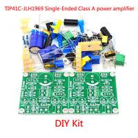 2pcs Classic Version TIP41C JLH1969 Single-ended Class A Power Amplifier DIY Kit