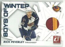 2010-11 Donruss Boys of Winter Threads PRIME #37 RICH PEVERLEY 2 CL PATCH SP /75