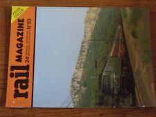 $$$ Revue Rail magazine N°93 Trafic internationalSNCV 100 ansDelemont