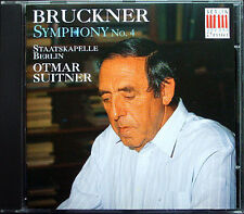 Otmar SUITNER: BRUCKNER Symphony No.4 Romantic Staatskapelle Berlin CD Sinfonie