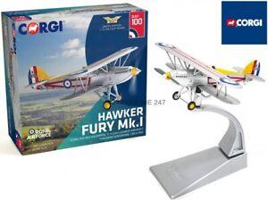 CORGI AA27304 1/72 HAWKER FURY K2065 1 SQN 'C' FLIGHT LDR'S AIRCRAFT