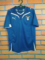Lazio Jersey Training SMALL Shirt Mens Football Soccer Blue Maglietta Puma