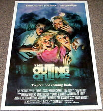 THE OUTING 1987 ORIGINAL B-STYLE 27x41 MOVIE POSTER! DREW STRUZAN HORROR ART!