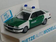 Rietze Audi 80 Polizei grün-weiss - 50461