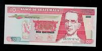 GUATEMALA 10  QUETZALES 2003 PICK # 107 UNC  BANKNOTE.