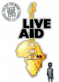 Live Aid DVD (2004) cert E 4 Discs Excellent Condition 10 hours of class music