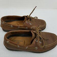 Dockers Men's Castaway Genuine Leather Casual Classic Rubber Sole Boat Shoe 7.5M