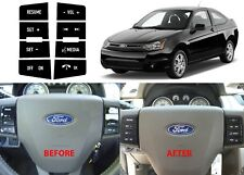 Replacement Steering Wheel Button Stickers For 2008-2010 Ford Focus New USA
