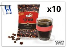 10X Elite 100gr Ground Black Turkish Coffee KOSHER Israel Tasty  Aroma Dark Mud