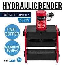 Hydraulic Busbar Bender 1/2 12mm 25 Ton Copper Hydraulic Easy Carrying Updated
