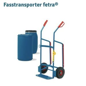 Fasstransporter fetra®, Tragkraft 250 kg, Luft-Bereifung
