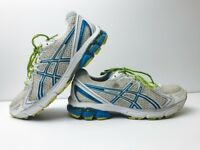 ASICS Gel GT 2170 Running Shoes White/Turquoise/Yellow T256N Women's 9.5 GUC