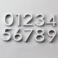 Selbstklebende Tür Nummer Ziffer 0-9 Zeichen Aufkleber DIY Apartment Home Decor