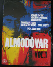Pedro Almodovar Collection on DVD. 3 Boxsets, includes most of his films