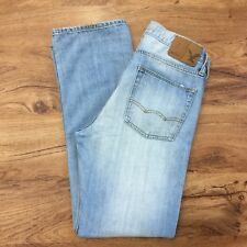 "American Eagle Original Straight Leg Jeans 100% Cotton Womens 29/30 Waist 31"""
