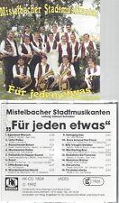 CD--MISTELBACHER STADTMUSIKANTEN--FÜR JEDEN ETWAS