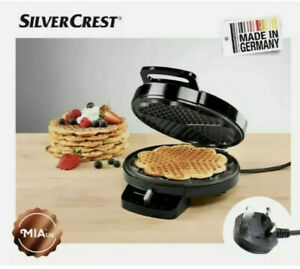 SilverCrest Waffle Maker High-quality Non-stick coating with 15 recipes
