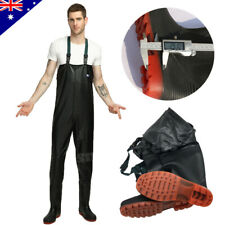 Chest Waders Waterproof PVC Pants with Boots Hunt Fishing Tackle Wading Outdoor