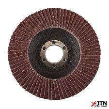 Silverline 793761 Heavy Duty Aluminium Oxide Flap Disc 115mm 60 Grit