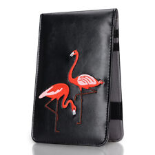 Golf Scorecard Yardage Book Holder Flamingo Cover Well Protect Golf Accessories