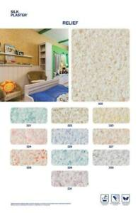 Silk Plaster UK LTD Liquid Wallpaper Relief COLORS