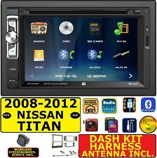 FITS 2008-12 NISSAN TITAN TOUCHSCREEN BLUETOOTH USB CD/DVD CAR RADIO STEREO PKG