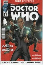 Doctor Who Four Doctors #1 War 9th 10th 11th 12th Doctor comic book TV show