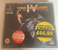Wing Commander IV: The Price Of Freedom - Sony Playstation One PS1 Complete