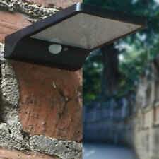 Brillante LED de 36 Negro Al Aire Libre Sensor de movimiento luces de pared Luces De Jardín Solar Street