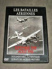 LES BATAILLES AERIENNES septembre 1939 aout 1945 -  DVD Archives Miliaires