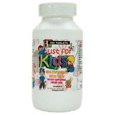 Vitaminas para niños Just for Kids. para todo un año.Vitaminas en forma de dulce
