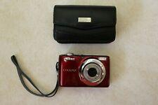 Nikon COOLPIX L24 14.0MP Digital Camera - Red