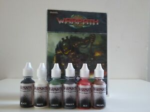 VINTAGE MANTIC WARPATH ORX PAINT SET X 6