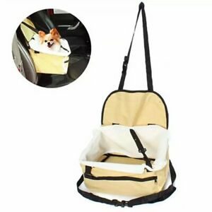 Pet Dog Car booster seat Travel Folding Puppy Portable Carrier With Safety Leash