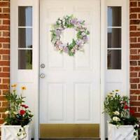 Silks Flower Artificial Garland Simulation Wreath Door Wedding Decoration A1O4