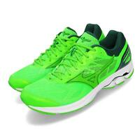 Mizuno Wave Rider 21 Green White Men Running Training Shoes Sneakers J1GC1803-41