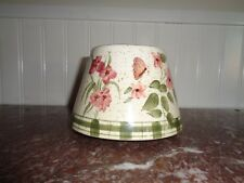 Home Interior Candle Shade- Butterfly Garden- Habitat for Humanity