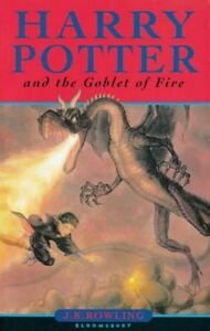 Harry Potter and the Goblet of Fire (Book 4),J. K. Rowling- 9780747550990