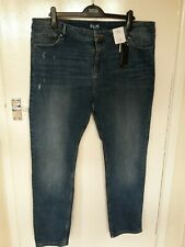 NEW SIZE 20  SLIM JEANS BY MARKS & SPENCER COLLECTION RRP £25.00