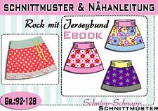 Kinderrock Schnittmuster und Nähanleitung Gr.:92-128